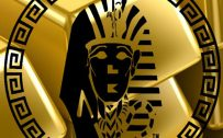 Gold Colored Background Last Kings Wallpaper for iPhone
