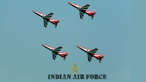 Indian Air Force Wallpaper with Advanced Jet Trainer Aircrafts
