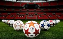 Pics of Soccer Balls on Wembley Stadium