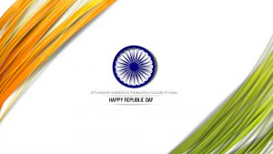 Republic Day Images Free Download in HD with Simple Design
