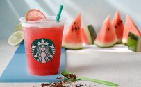 Shaken Watermelon and Passion Tea by Starbucks Teavana in Japan
