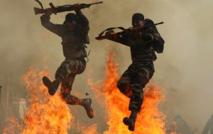 Wallpaper with Training Of Indian Army