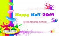 Happy Holi 2019 Wallpaper in High Resolution