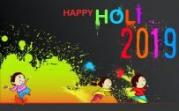 Happy Holi Wallpaper 2019 for Kids