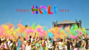 Holi Festival 2018 Wallpaper in HD