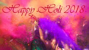 Holi India 2018 Wallpaper in HD Resolution