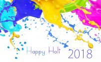 New Wallpaper for Happy Holi 2018 in HD