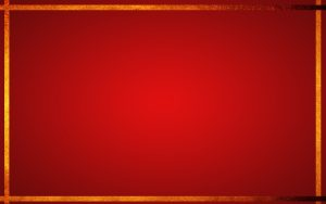 Red Chinese Wallpaper Designs 16 of 20 with Solid Red and Gold Border