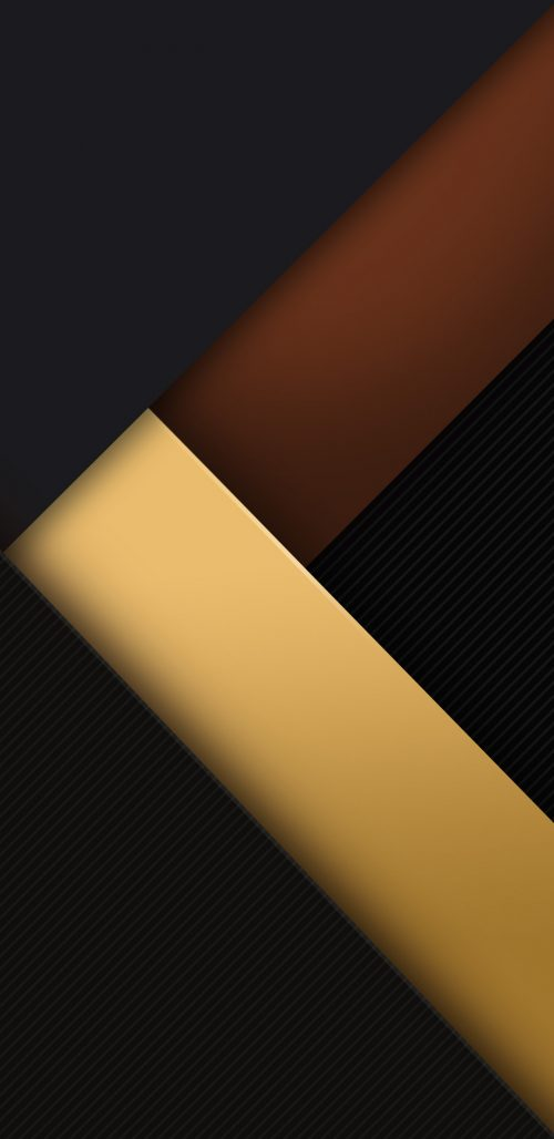 Samsung Galaxy A8 Background with 3D Dark Objects
