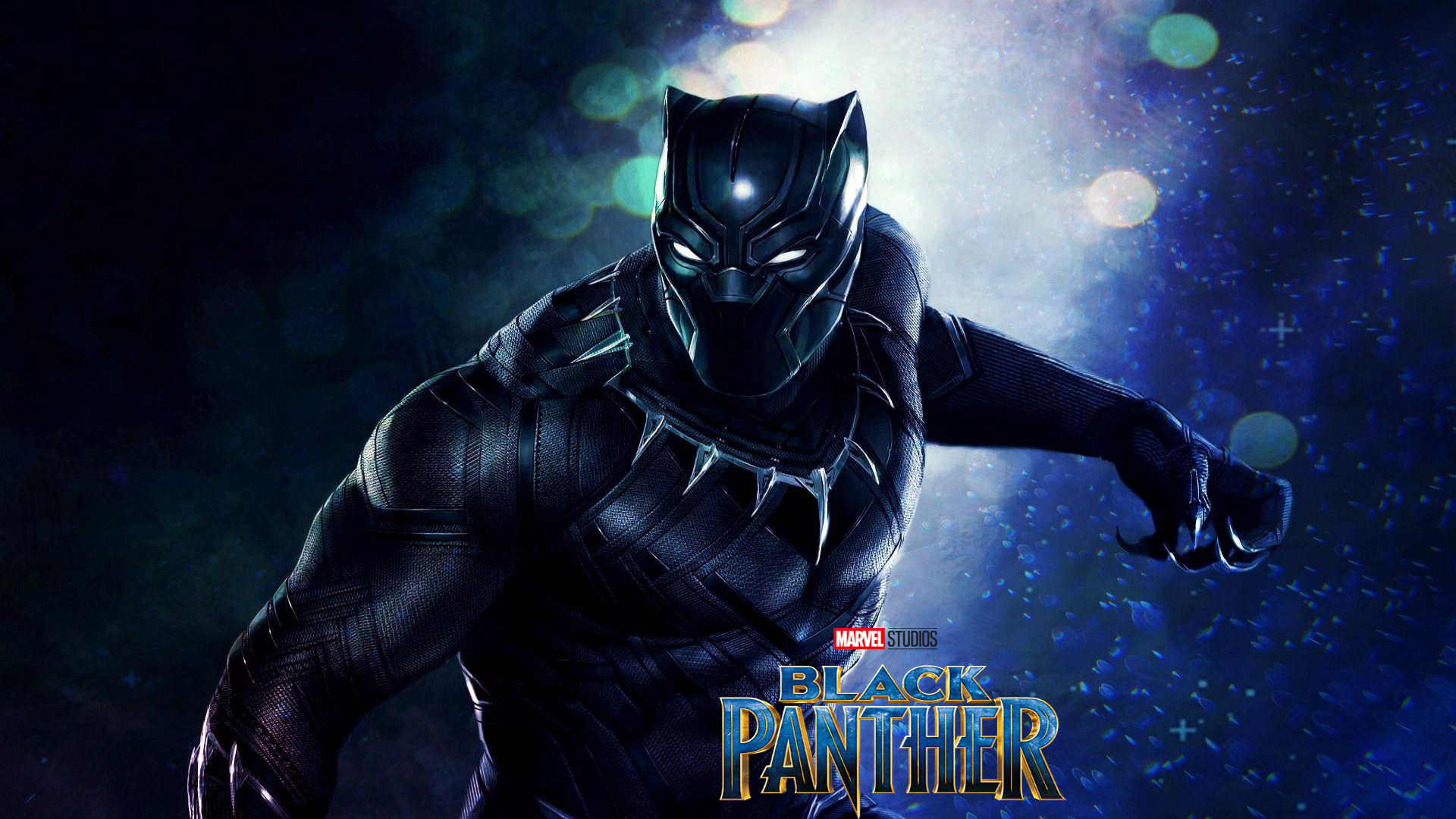 Marvel Black Panther Wallpaper Hd: Black Panther Marvel Close Up Picture For Wallpaper