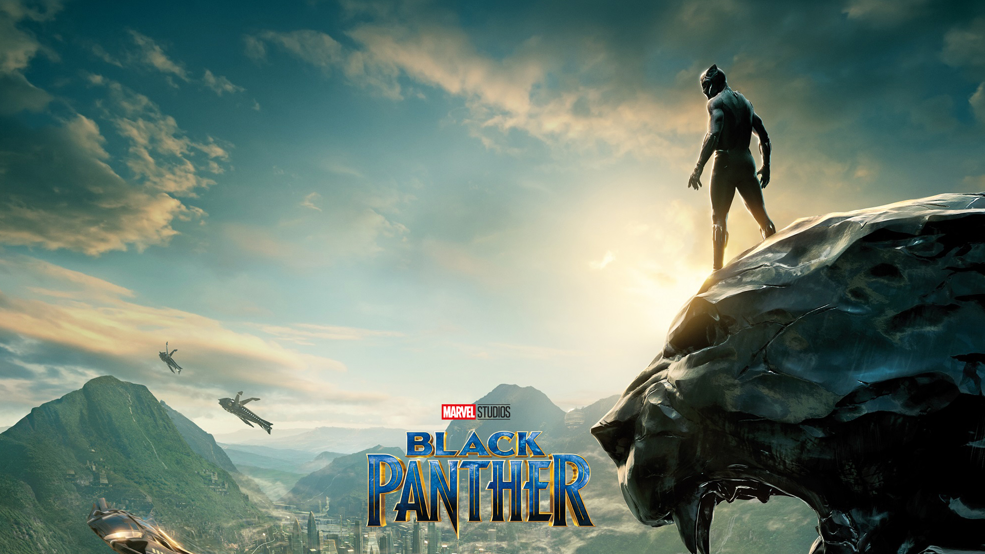 Black Panther Movie Poster Wallpaper For Desktop