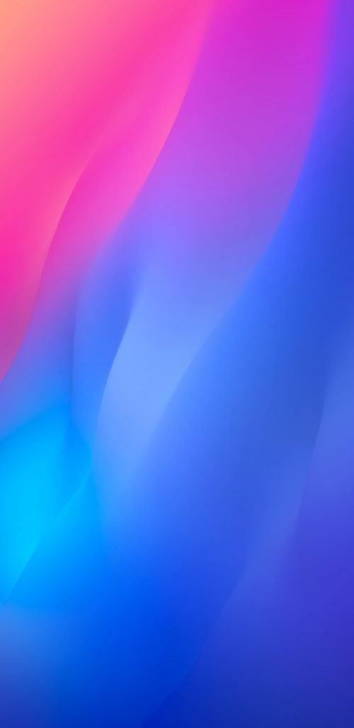 Colorful Abstract Background for Samsung Galaxy S9 and S9+ in Red and Blue