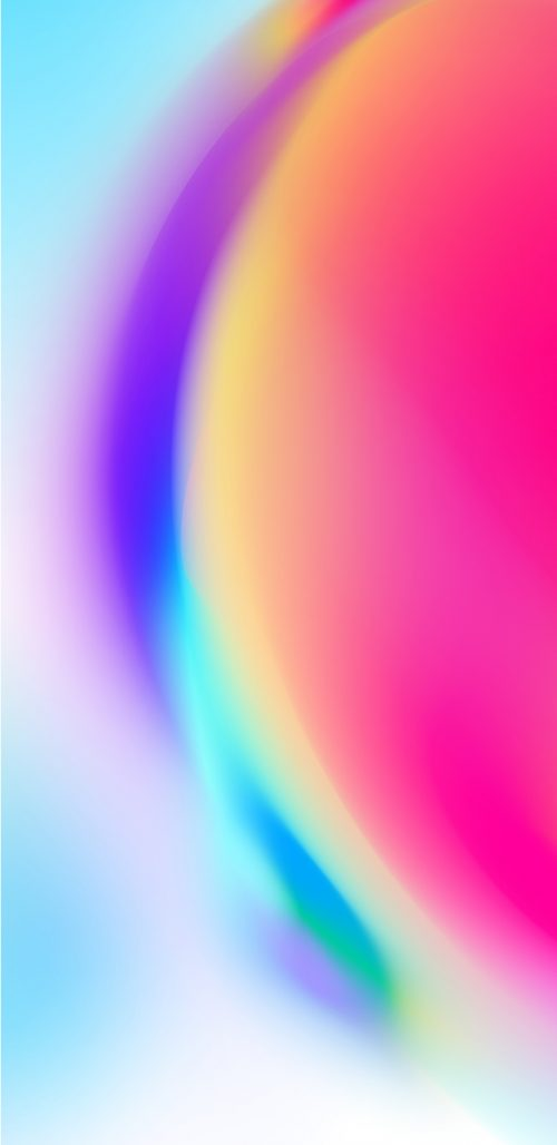 Colorful Abstract Unique Background for Samsung Galaxy S9 and S9+