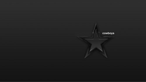 Dallas Cowboys Free Wallpaper Download with Dark Background