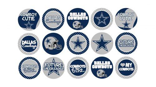 Dallas cowboys logo wallpaper with various custom pins hd dallas cowboys logo wallpaper with various custom pin voltagebd Image collections