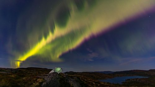 Natural Images Hd 1080p Download With Aurora Borealis Over Central Norway Hd Wallpapers Wallpapers Download High Resolution Wallpapers