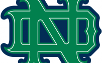 Notre Dame Fighting Irish Artistic Logo in PNG