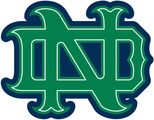 Notre Dame Fighting Irish Artistic Logo In Png Clipart Hd