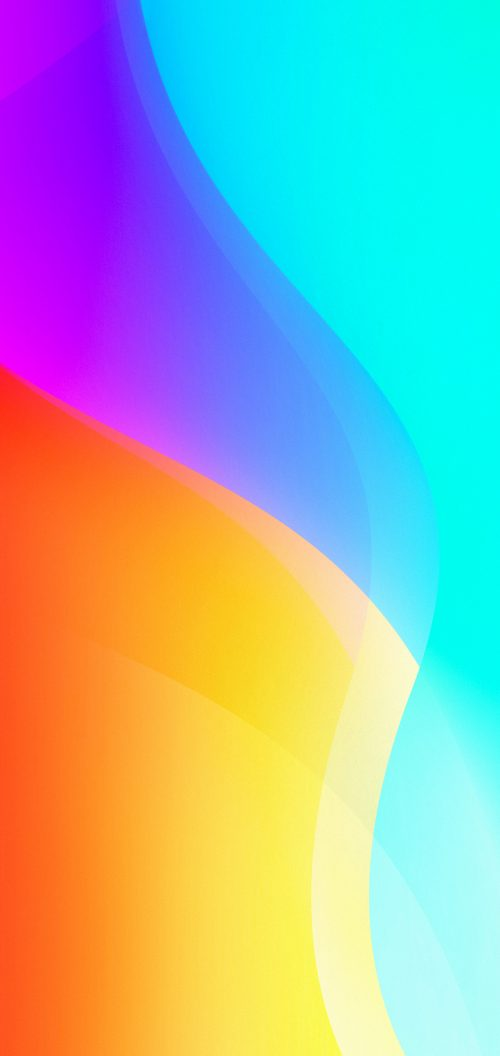 Wallpaper for vivo V9 with Abstract Colorful Background