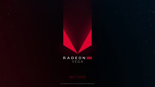 4K Black Wallpapers for Windows 10 - #08 of 10 - with Radeon RX Vega Logo