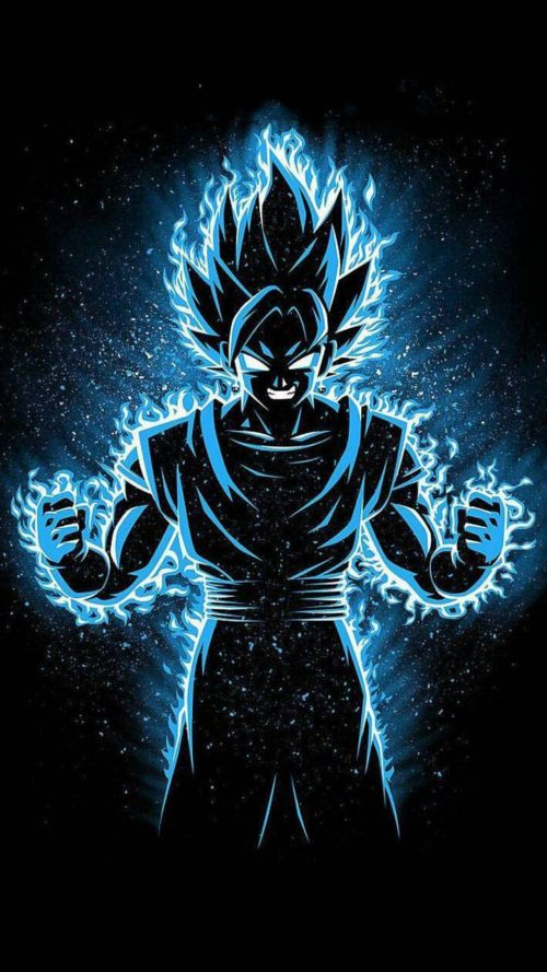 Best 20 Pictures of Dragon Ball Z – #06 – Goku and Vegeta Super Saiyan Blue Fusion Picture for Mobile Phone