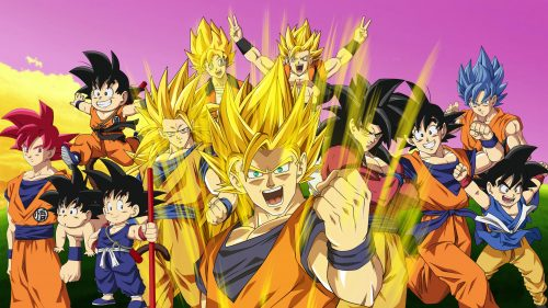 Best 20 Pictures of Dragon Ball Z – #09 – All Son Goku Appearances