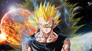 Best 20 Pictures of Dragon Ball Z - #02 - Majin Vegeta Super Saiyan
