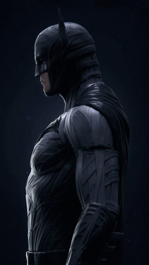 Picture of Batman in Close Up for Xiaomi Mi A2 Background