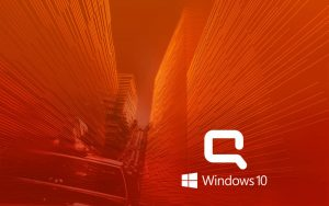 Windows 10 OEM Wallpaper for HP Compaq Laptops 1 of 6 - City