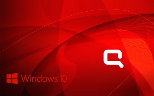Windows 10 OEM Wallpaper for HP Compaq Laptops 3 of 6 - Abstract Flows