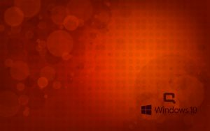 Windows 10 OEM Wallpaper for HP Compaq Laptops 5 of 6 - Sunset Illustration