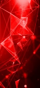 Oppo Find X Background with Abstract 3D Infra Red Lights