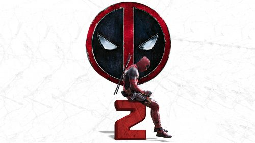 Deadpool 2 Logo for Desktop 4K Wallpaper