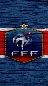 France Football Logo Wallpaper for Mobile Phones