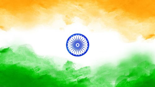 Artistic India Flag for Independence Day