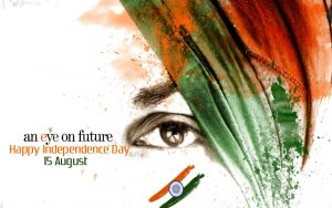 Happy Independence Day with Eye on Future