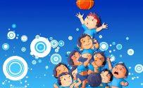 Happy Janmashthami Festival Illustration