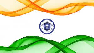 Indian Flag Art for Independence Day Celebration