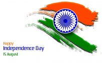 National Flag of India Art for Independence Day