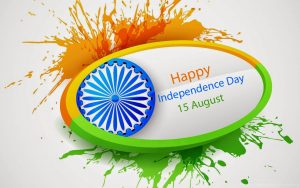 Tiranga Art Wallpaper for Independence Day 15 August