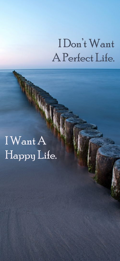Inspirational Quotes Wallpapers for Mobile (20 of 20) about Happy Life