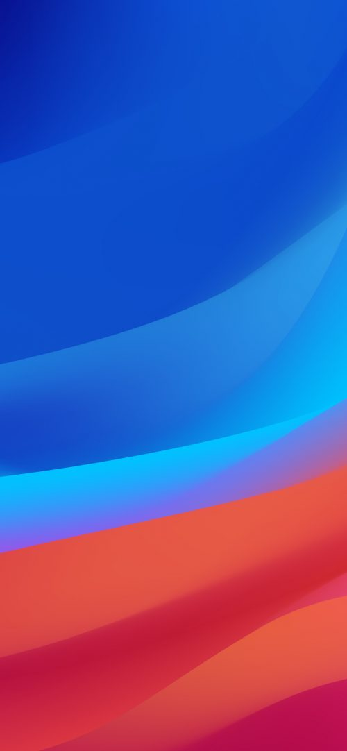 Top 10 Best Alternative Wallpaper for Apple iPhone XS Max 01 of 10 - Blue and Red Abstract