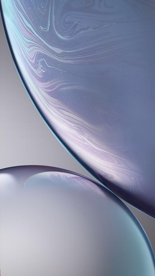 Download Original Apple iPhone XR Wallpaper - 01 - Silver