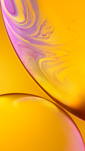 Download Original Apple iPhone XR Wallpaper - 02 - Yellow