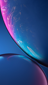 Download Original Apple iPhone XR Wallpaper - 05 - Blue