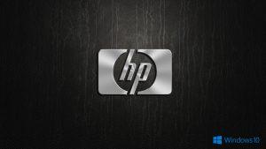 Windows 10 OEM Wallpaper for HP Laptops 02 0f 10 - Logo in 3D