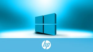Windows 10 OEM Wallpaper for HP Laptops 06 0f 10 - 3D Windows 10 Logo with HP