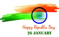 Simple Wallpaper for India Republic Day Celebration