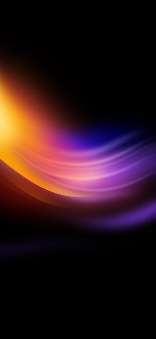 Best 10 Wallpaper for Huawei Honor 10 Lite 09 - Yellow Purple Lights