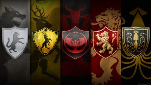 Game of Thrones Wallpaper 01 of 20 - Herarldry